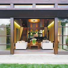 Contemporary Living Room by Kirkpatrick Architects