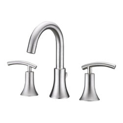 Ultra Faucets - Ultra Faucets UF55313 Lavatory Kitchen Faucet - Two-handle design for precise temperature adjustment