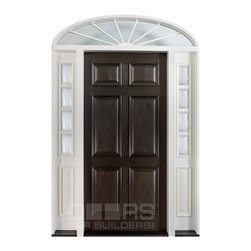 Classic Collection (Custom Solid Wood Doors) - DB-660 2SL TR W CST