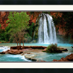 Havasu Falls Framed Print by Andy Magee
