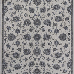 """KAS - KAS Montecarlo 5174 (Ivory) 5'3"""" x 7'7"""" Rug - This Machine Woven rug would make a great addition to any room in the house. The plush feel and durability of this rug will make it a must for your home. Free Shipping - Quick Delivery - Satisfaction Guaranteed"""