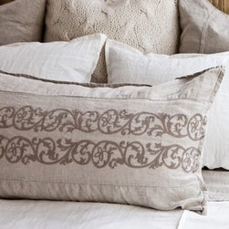 Pom-Pom at Home Bedding Allegra Pillow Sham - All you need are some pretty pillow shams paired with a simple quilt, and you are good to go. I love these new ones by Pom-Pom at Home. They have such pretty bedding options.