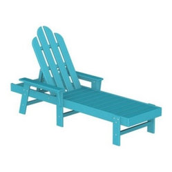 Polywood Long Island Recycled Plastic Chaise Lounge