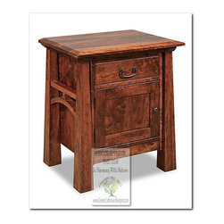 Mission Side Tables and Accent Tables - 100% HANDCRAFTED IN THE UNITED STATES BY OUR MASTER-CRAFTSMAN AND GUARANTEED FOR LIFE!