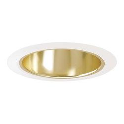 """Juno Lighting - Juno 216 5"""" Enclosed Cone Reflector Trim, 216g-Wh - 5"""" Enclosed Cone Reflector Trim for use with select Juno housings."""