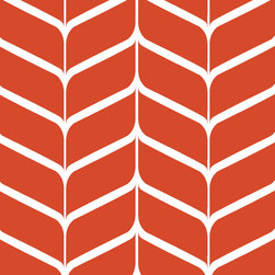 """Indigo Root - Tilez Peel & Stick Wallpaper Squares - Latte Chevron, Burnt Orange, 12""""x12"""" 3-Pa - 12""""x12"""" Peel and Stick Tilez squares are made of a polyester fabric material and are environmentally safe. Bio-degradable over time. Since Tilez are non-toxic, they are great for infant and kids rooms! Transform small spaces. Refurbish old furniture. Create a non-slip dinner table runner. Tilez allows you to easily create stripes on a wall with in seconds! This material does not rip or wrinkle and is not required to be removed over time. Results may vary on stucco and other surfaces that are not smooth & clean."""