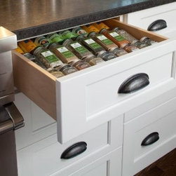 KITCHEN DRAWER CABINET SPICE ORGANIZER - Call us for an estimate!