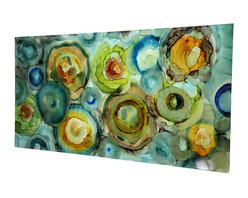Original Painting Direct from Artist - Jon Allen - Modern Abstract Original Painting - Geometric 1 by Jon Allen - Modern Abstract Original Painting - Geometric 1 by Jon Allen