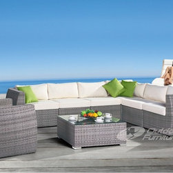 Outdoor rattan furniture DH-608 - rattan outdoor furniture