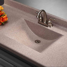Modern Bathroom Countertops by Imperial Marble Corporation