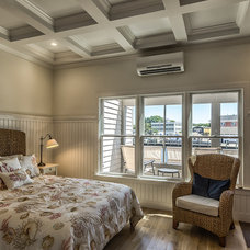 Beach Style Bedroom by Nautilus Architects LLC