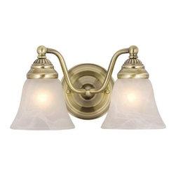Vaxcel Lighting - Vaxcel Lighting VL35122 Standford 2 Light Vanity Light - Features: