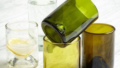 Recycled Wine Punt Glassware Set - 12 oz. | west elm