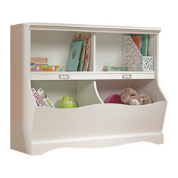 Sauder - Sauder Pogo Bookcase Footboard in Soft White Finish - Sauder - Bookcases - 414436 - About The Sauder Pogo Collection: