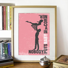 Dirty Dancing Poster Movie Quote Print by PeanutoakPrint on Etsy