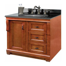 Foremost - Foremost Naples 24 Inch Vanity in Warm Cinnamon Finish - Foremost Naples 24 Inch Vanity in Warm Cinnamon Finish
