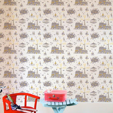 Eclectic Wallpaper by Famille Summerbelle