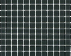 "Crayola - Decorative Glass Mosaics Dark Grey 12"" x 12"" - This collection is 's translation of all the vibrancy and happiness of the world now available in 18 blends and 42 solid colors. The 1'x1' glass mosaic sheets can be used for indoor and outdoor applications."