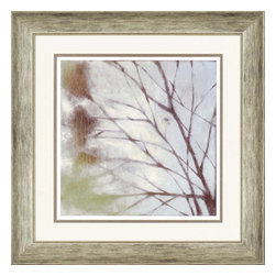Paragon - Diffuse Branches I - Framed Art - Each product is custom made upon order so there might be small variations from the picture displayed. No two pieces are exactly alike.