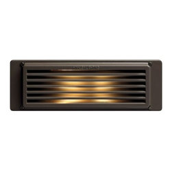 Hinkley Lighting - Hinkley Lighting H59040 120v 40w Halogen Line Voltage Brick / Step Light - Hinkley Landscape Lighting 59040 Brick Light from the Line Voltage CollectionMade from Cast Aluminum with a silicone gasket providing a superior weather-tight seal.