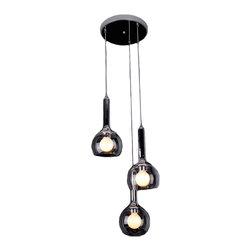 Milan Modern Glass Pendant lighting -