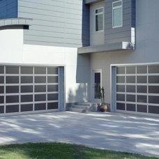 Modern Garage Doors And Openers by The Garage Door Depot