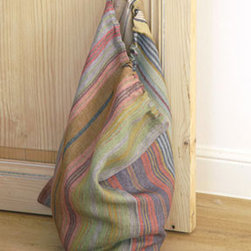 Georgetown Laundry Sack - Beautiful Libeco linen meets handsome laundry storage — end of story.