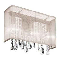 Dainolite - Dainolite 85306W-44-117 Bohemian 1 Light Wall Sconce - Features:
