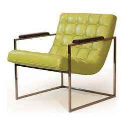 10-973 FRANK CHAIR by Milo Baughman - Specifications: