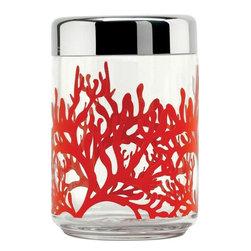 "Alessi - Alessi ""Mediterraneo"" Kitchen Jar, Large - Hermetic kitchen jar"