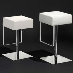 Luray Backless Bar Stool - Adjustable Bar Stools