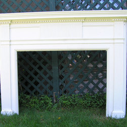 Antique Fireplace Mantel - Add charm and historical architecture with an antique mantel from Historic Houseparts.