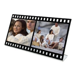 "Kito - 10.5 Inch ""Scene Two"" Film Strip Picture Frame (Holds 2 - 5 x 3.5) - This gorgeous 10.5 Inch ""Scene Two"" Film Strip Picture Frame (Holds 2 - 5 x 3.5) has the finest details and highest quality you will find anywhere! 10.5 Inch ""Scene Two"" Film Strip Picture Frame (Holds 2 - 5 x 3.5) is truly remarkable."