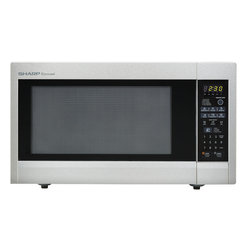"Sharp - 2.2 Cu.Ft, 1200W with 16"" Tunrtable, Sensor, Keep Warm Function - The Sharp Carousel R651ZS 2.2 Cu. Ft. 1200W Countertop Microwave Oven, in stainless steel, is a well-designed, extra-large microwave oven with a scratch-resistant glass door and a 16-inch glass, Carousel turntable. This family-friendly microwave oven combines a stunning appearance with smart, time-saving features including sensor cook, one-touch settings and softening options. Sensor cooking technology automatically determines cooking time and eliminates guesswork making microwave cooking easier than ever. Plus, the Keep Warm Plus feature lets you keep food warm for 30 minutes after cooking with no loss of food quality.2.2 cu. ft. capacity microwave oven with removable 16-inch glass turntable"
