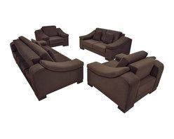 Fabric Sofa Living Room Set - NEVA New -