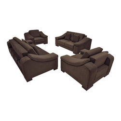 Fabric Sofa Living Room Set - NEVA New -
