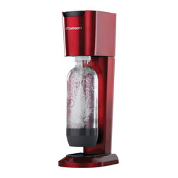 Soda Stream - SodaStream Genesis Home Soda Maker Starter Kit, Red - This package includes everything you need to make fresh sparkling water in your own home.