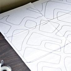 PIllow Shams with Cutouts and Interfacing