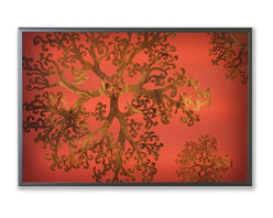 Jef Designs - Jef Designs Gorgonia Lightbox - Limited edition illuminated, digital paintings. Evocative and sensual while still adhering to clean, modern design principles.