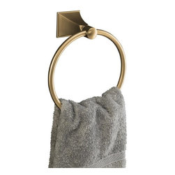 KOHLER - KOHLER K-487-BV Memoirs Stately Towel Ring - KOHLER K-487-BV Memoirs Stately Towel Ring in Brushed Bronze