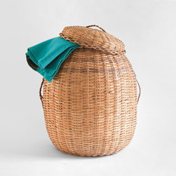 Vintage Woven Storage Basket by Hindsvik - You need a place to catch all of those wet beach towels at the end of the day. I love this vintage wicker basket because it's large and very beach chic.