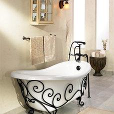 Wrot iron tub