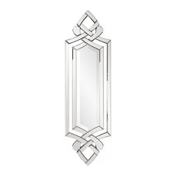 Howard Elliott - Allure Unique Ornate Frame Mirror - Our Allure mirror has a classic yet sleek Venetian style ornate frame