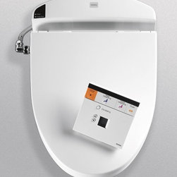 Toto E200 Washlet  Elongated SW844 - New Design. A Revolution in Hygiene. The Washlet E200 from TOTO.