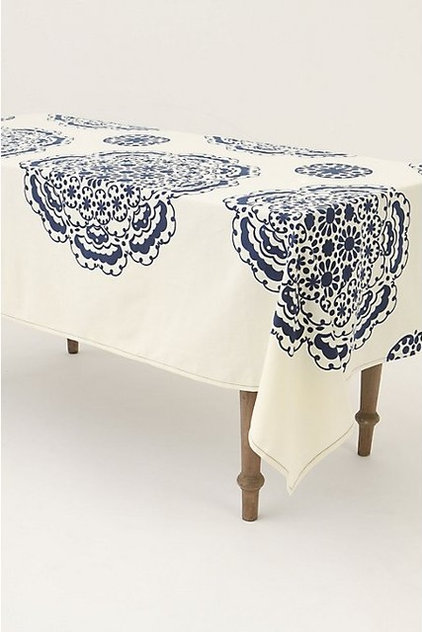 eclectic tablecloths by Anthropologie