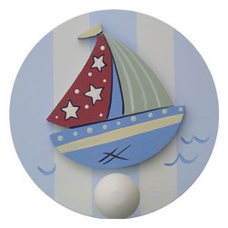Wish Upon A Star - Nautical Wall Peg - Set of Two - Nautical Wall Peg - Set of Two