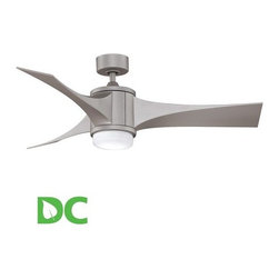 "Fanimation - Fanimation Jennix 52"" 3 Blade DC Ceiling Fan - Blades, Light Kit, & Remote Con - Included Components:"