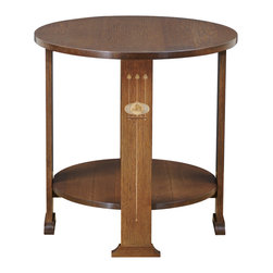 Stickley Harvey Ellis Round Lamp Table 89/91-470 -