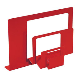 2-D:3-D Letter Holder - Keep your mail tidy with this neat organizer. It lets you sort different sizes of mail in an orderly way.