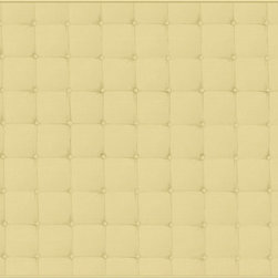 Casart coverings - Faux Padded Headboard Wallcoverings, Mustard, King (20 Sq. Ft.), Casart Regular - Professionally hand-painted faux finish that authentically mimics the look of colored linen.